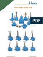 JT Series Acme Screw Jack, Compact Acme Screw Jack, Acme Screw Jack Linear Actuators, Acme Screw Jack Nuts, Worm Gear Acme Screw Jack, Self Locking Acme Screw Jack, Acme Threads Screw Jack Lift Catalogue