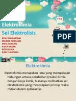 Sel Elektrolisis Kelompok 1