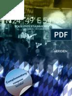 Le Meridien Entertainement Guide Sept_Oct