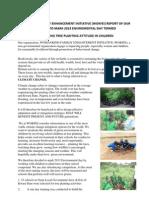 Tree Planting in Oyun LGA