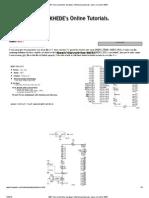 8051 Microcontroller Hardware Interfacing Tutorials- Basic Circuit for 8051