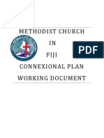 Methodist Church Connexional Plan First Draft