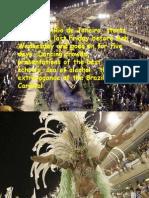 Carnival in Rio de Jainero