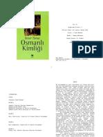 Taner Timur - Osmanlı Kimliği