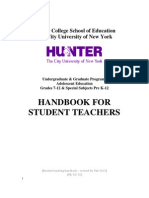 hunter college student teachers handbook-fall2013