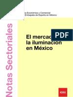 El mercado de la iluminación en México