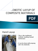 Robotic Layup of Composite Materials