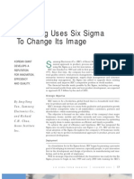 Samsung Uses Six Sigma to Change