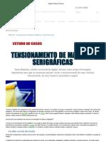 Agabê _ tensionamento de matrizes serigráficas