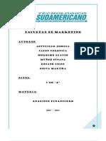 Proyecto Analisis Financiero Hostal la Cascada