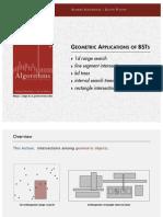 Geometric Search Coursenotes
