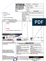 Airtel 4G Bill Invoice