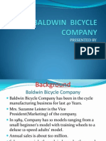 Baldwin Bicycle Company Case Presntation