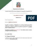 Enmienda No. 2 PU-911 Data Center [Proyecto 911]