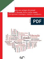 A EDUCAÇÃO NOS ARTIGOS DE JORNAL DURANTE O ESTADO NOVO