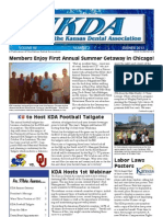 Summer 2013 Journal of the Kansas Dental Association