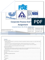 Corporate Finance Valuation