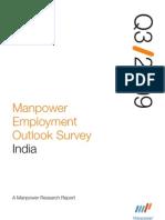 Manpower Employment Outlook Survey Q3 2009