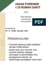 Power Point Pelayanan Forensik Klinik Di Rumah Sakit