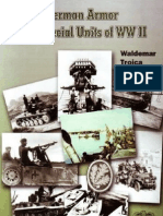 German Armour and Special Units of Wwii