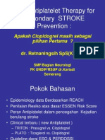 Dr. Retna-New Antiplatelet for Secondary Stroke Prevention