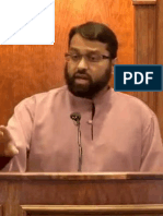 Sanctity and value of life - Egypt, Syria, Burma - Dr. Yasir Qadhi (Khutbah at MIC)
