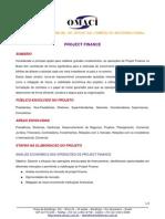 CAPTAÇÃO DE RECURSOS INTERNACIONAIS - PROJECT FINANCE