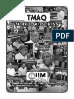 Tmaq Model Questions 2012