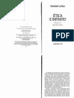 Emmanuel Lévinas - Ética e Infinito