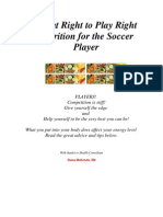 Nutrition Advice for Youth Soccer Players
