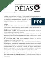 Chamada Revista Idéias 2014.1