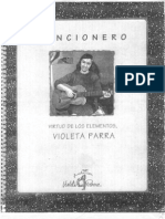 Violeta Parra - Cancionero