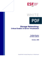 ESG White Paper Brocade Storage Networking Critical Enabler of Server Virtualization WP 00