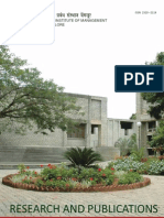 IIMB Research and Publications 2012
