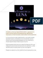 8 Fases de La Luna
