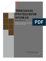 Mukhtasar Buku Strategic Planning for Information System