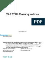 CAT Quant20