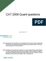 CAT Quant25