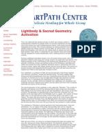 Lightbody Sacred Geometry Activation