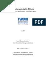 Ethiopia Irrigation Diagnostic July 2010 2