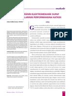 Yay EnerjisininElektromekanik Supap Mekanizmalarının Performansına Katkısı