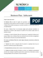 Business Plan Saiba Mais