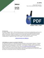 Motorola Manual Talkabout 3