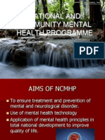National Mental Health Programme Community Health Nursing Ppt (1)