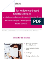 Strategy for Evidencebased Health Services 1220793142612657 9