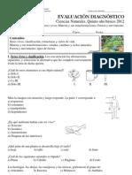Diagnóstico 5º A y B
