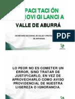 Presentación Tecnovigilancia Valle de Aburrá - Secretaría Antioquia