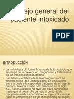 e.-manejo Gral Paciente Intox