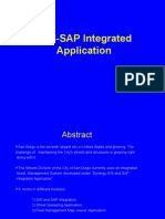 Synergy GIS-SAP Integrated Application 1