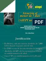 presentación aiepi neonatal 2009